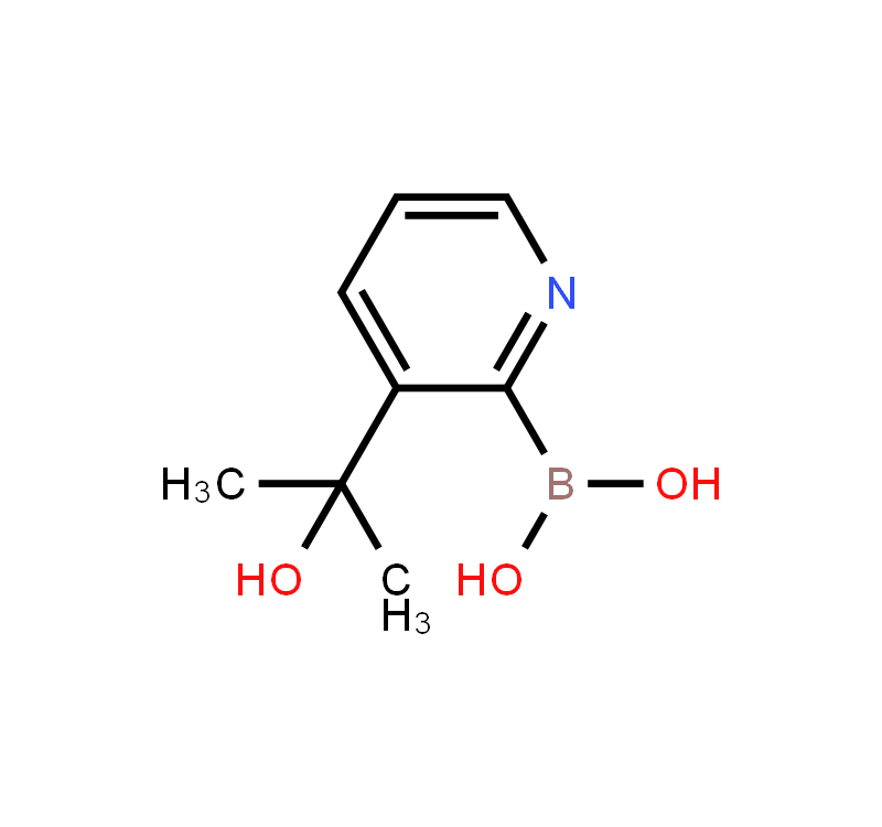 3-(2-Hydroxypropan-2-yl)pyridine-2-boronic acid