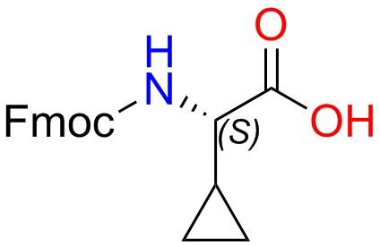 (S)-2-((((9H-Fluoren-9-yl)methoxy)carbonyl)amino)-2-cyclopropylacetic acid