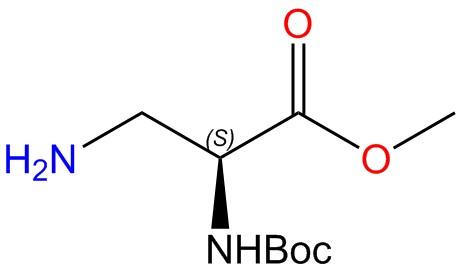 3-Amino-N-Boc-L-alaninemethylester
