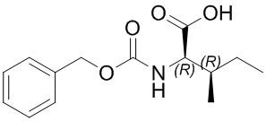 (2R,3R)-2-(((Benzyloxy)carbonyl)amino)-3-methylpentanoicacid
