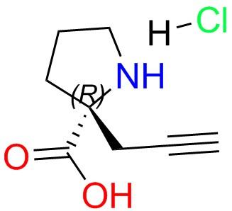 (R)-alpha-propynyl-proline-HCl