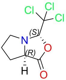 (3S,7AR)-3-(trichloromethyl)tetrahydropyrrolo[1,2-c]oxazol-1(3H)-one
