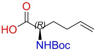 Boc-(2R)-2-Amino-5-Hexenoic Acid