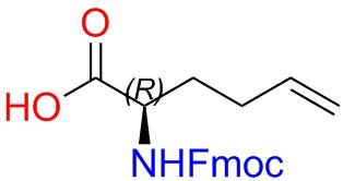 Fmoc-(2R)-2-Amino-5-Hexenoic Acid