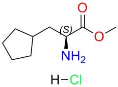 (S)-Methyl 2-amino-3-cyclopentylpropanoate hydrochloride