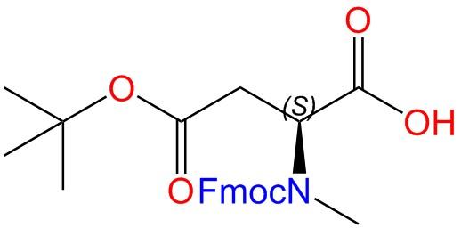 Fmoc-N-MeAsp(OtBu)-OH