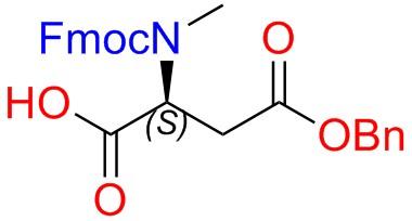 Fmoc-MeAsp(OBn)-OH